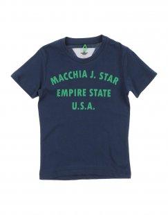 MACCHIA J Jungen 0-24 monate T-shirts Farbe Dunkelblau Größe 10