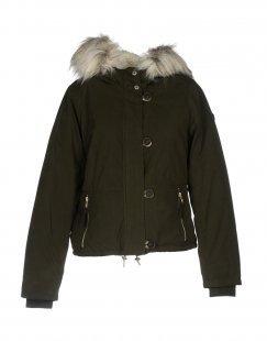 ONLY BLU Damen Jacke Farbe Dunkelgrün Größe 7