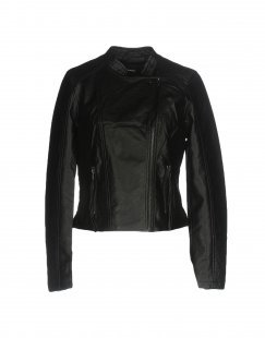 VERO MODA Damen Jacke Farbe Schwarz Größe 7