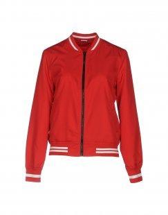 JACQUELINE de YONG Damen Jacke Farbe Rot Größe 5