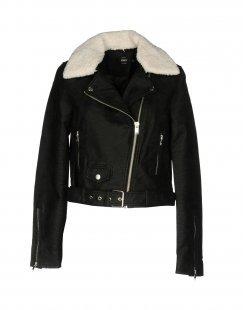 ONLY Damen Jacke Farbe Schwarz Größe 5