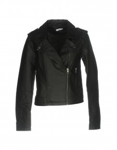 JACQUELINE de YONG Damen Jacke Farbe Schwarz Größe 6