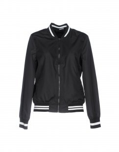JACQUELINE de YONG Damen Jacke Farbe Schwarz Größe 5