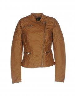 ONLY Damen Jacke Farbe Braun Größe 4