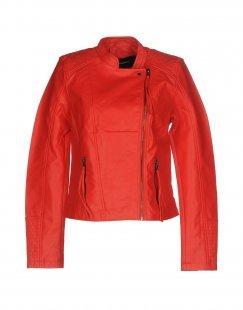 VERO MODA Damen Jacke Farbe Orange Größe 6