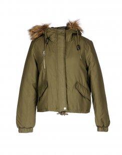 NOISY MAY Damen Jacke Farbe Militärgrün Größe 5