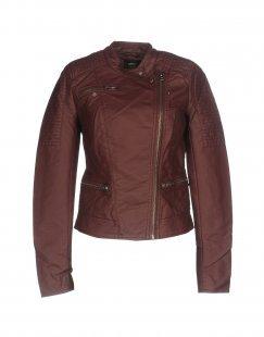 ONLY Damen Jacke Farbe Pflaume Größe 6