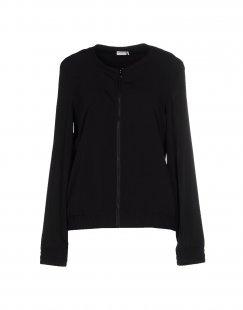 JACQUELINE de YONG Damen Jacke Farbe Schwarz Größe 4