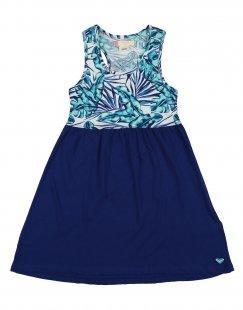 ROXY Mädchen 3-8 jahre Strandkleid Farbe Blau Größe 6
