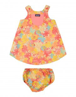 PATAGONIA Mädchen 3-8 jahre Strandkleid Farbe Hellgelb Größe 2