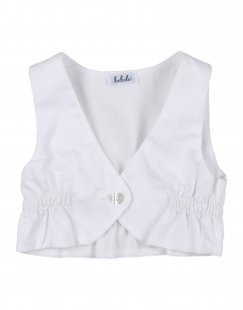 BEBEBO´ Mädchen 0-24 monate Wickelpullover Farbe Weiß Größe 1