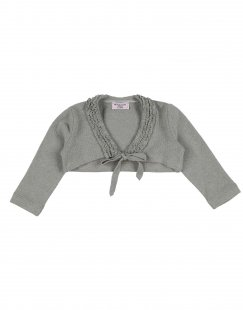 MONNALISA BEBE´ Mädchen 0-24 monate Wickelpullover Farbe Grau Größe 6