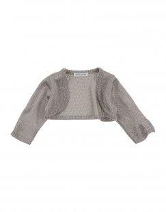 MEBI - NATURE Mädchen 0-24 monate Wickelpullover Farbe Grau Größe 5