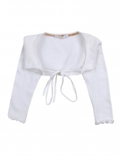 ALVIERO MARTINI 1a CLASSE Mädchen 0-24 monate Wickelpullover Farbe Weiß Größe 6
