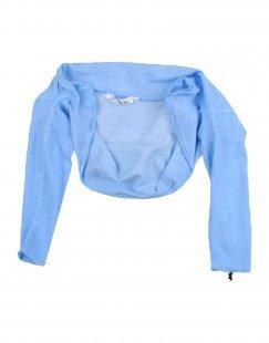 L:Ú L:Ú Mädchen 0-24 monate Wickelpullover Farbe Azurblau Größe 10