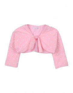 LEO E LILLY BON TON Mädchen 0-24 monate Wickelpullover Farbe Rosa Größe 10