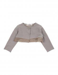 LE PETIT COCO Mädchen 0-24 monate Wickelpullover Farbe Khaki Größe 8