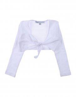 PATRIZIA PEPE Mädchen 0-24 monate Wickelpullover Farbe Weiß Größe 6