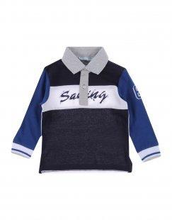 SILVIAN HEACH Jungen 0-24 monate Poloshirt Farbe Dunkelblau Größe 4