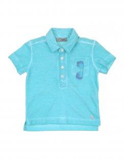 GRANT GARÇON BABY Jungen 0-24 monate Poloshirt Farbe Tūrkis Größe 4