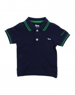 HARMONT&BLAINE Jungen 0-24 monate Poloshirt Farbe Dunkelblau Größe 4