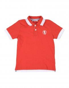 BIKKEMBERGS Jungen 0-24 monate Poloshirt Farbe Rot Größe 6