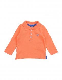 GUESS Jungen 0-24 monate Poloshirt Farbe Orange Größe 3