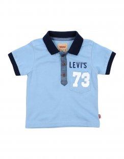 LEVI´S KIDSWEAR Jungen 0-24 monate Poloshirt Farbe Himmelblau Größe 4