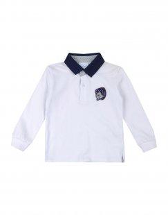 DISNEY Jungen 0-24 monate Poloshirt Farbe Weiß Größe 6