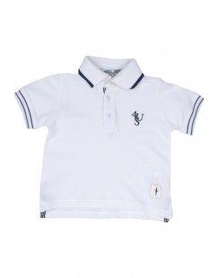 CESARE PACIOTTI 4US Jungen 0-24 monate Poloshirt Farbe Weiß Größe 4