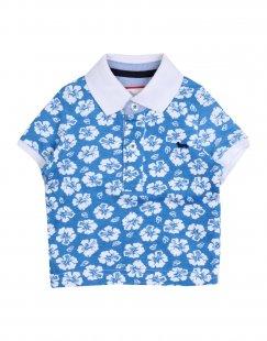 HARMONT&BLAINE Jungen 0-24 monate Poloshirt Farbe Blaugrau Größe 4