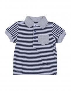JIMMY B. Jungen 0-24 monate Poloshirt Farbe Blau Größe 4