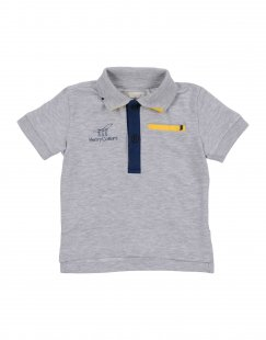 HENRY COTTON´S Jungen 0-24 monate Poloshirt Farbe Grau Größe 5