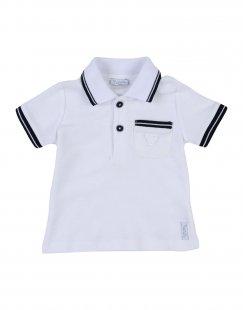NANÁN Jungen 0-24 monate Poloshirt Farbe Weiß Größe 3