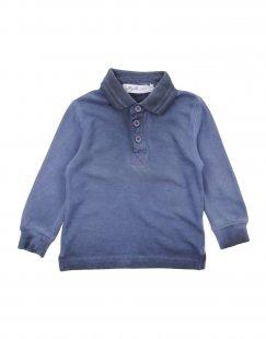 ALLIGALLI Jungen 0-24 monate Poloshirt Farbe Dunkelblau Größe 6