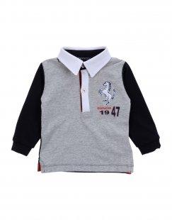 FERRARI Jungen 0-24 monate Poloshirt Farbe Grau Größe 4
