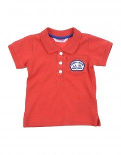GUESS Jungen 0-24 monate Poloshirt Farbe Rot Größe 3