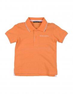 ASTON MARTIN Jungen 0-24 monate Poloshirt Farbe Orange Größe 5
