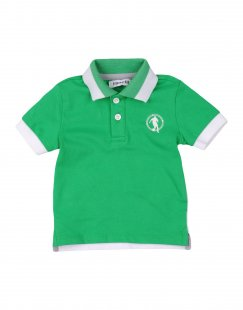 BIKKEMBERGS Jungen 0-24 monate Poloshirt Farbe Grün Größe 4