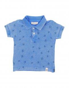 SUPPLIER DOPPIA P Jungen 0-24 monate Poloshirt Farbe Blau Größe 6