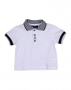 JIMMY B. Jungen 0-24 monate Poloshirt Farbe Weiß Größe 4