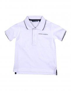 ASTON MARTIN Jungen 0-24 monate Poloshirt Farbe Weiß Größe 3