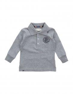 FRED MELLO Jungen 0-24 monate Poloshirt Farbe Grau Größe 6