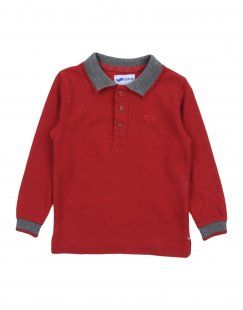 GAS Jungen 0-24 monate Poloshirt Farbe Bordeaux Größe 4