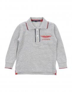 ASTON MARTIN Jungen 0-24 monate Poloshirt Farbe Grau Größe 3