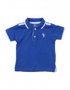 CESARE PACIOTTI 4US Jungen 0-24 monate Poloshirt Farbe Blau Größe 4