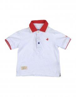 BROOKSFIELD Jungen 0-24 monate Poloshirt Farbe Weiß Größe 4
