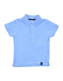 DANIELE ALESSANDRINI Jungen 0-24 monate Poloshirt Farbe Himmelblau Größe 6