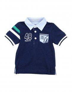 CESARE PACIOTTI 4US Jungen 0-24 monate Poloshirt Farbe Dunkelblau Größe 4