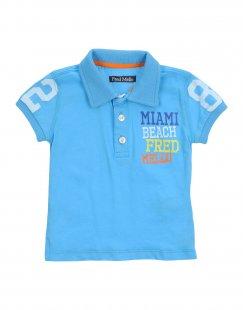 FRED MELLO Jungen 0-24 monate Poloshirt Farbe Himmelblau Größe 6